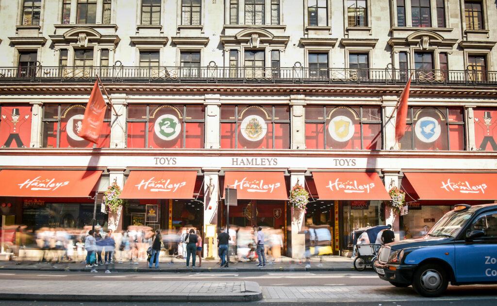 Hamleys; Regent Street, London, UK