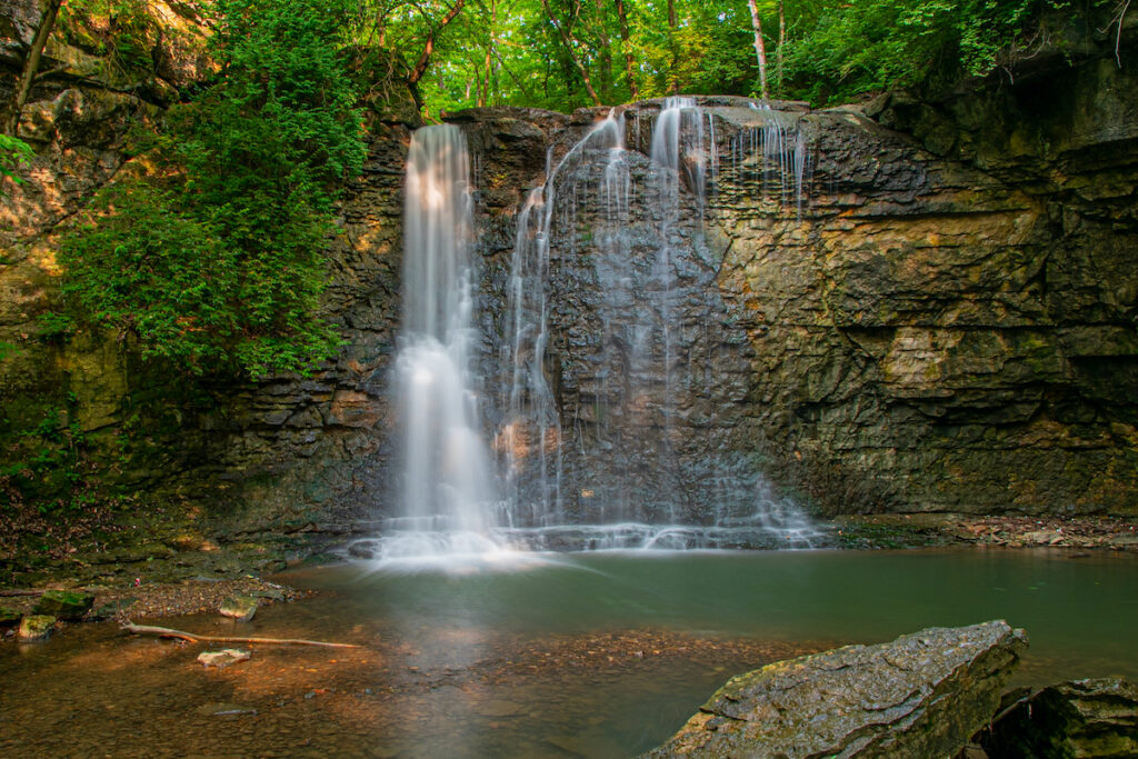 Hayden Run Falls; Dublin, Ohio