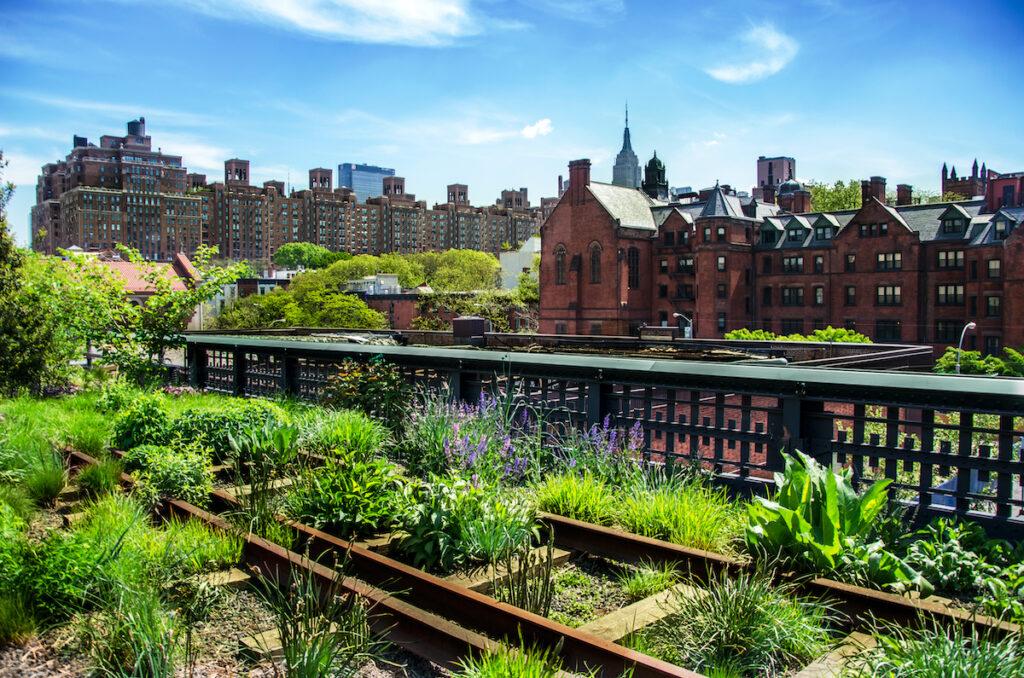 High Line Park; New York City