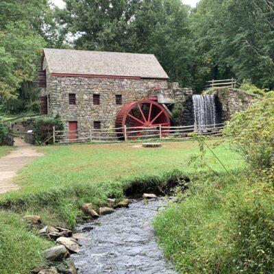 Grist Mill in Sudbury, Massachusetts.