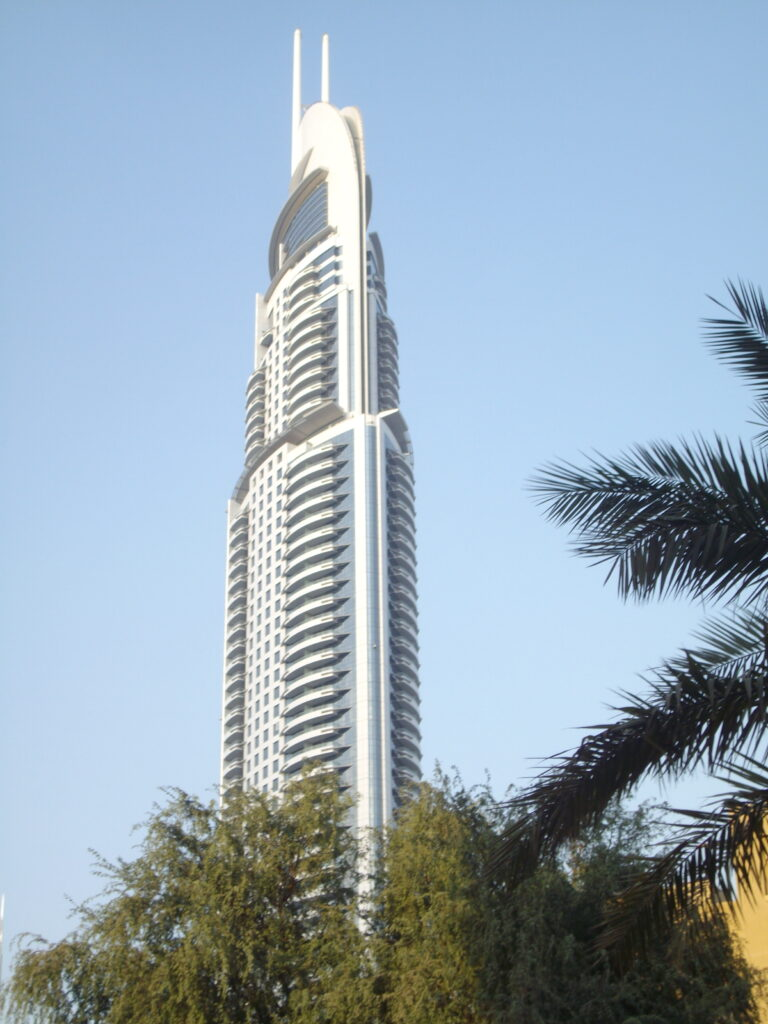 Burj Al Arab, a building to see in Dubai
