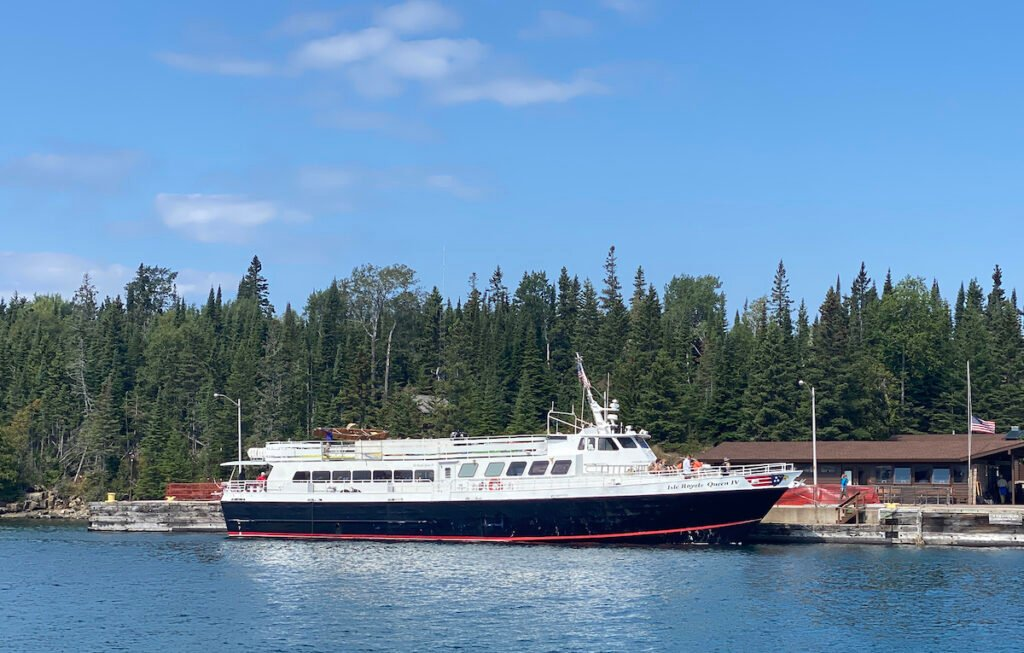 Ferry to Isle Royale.