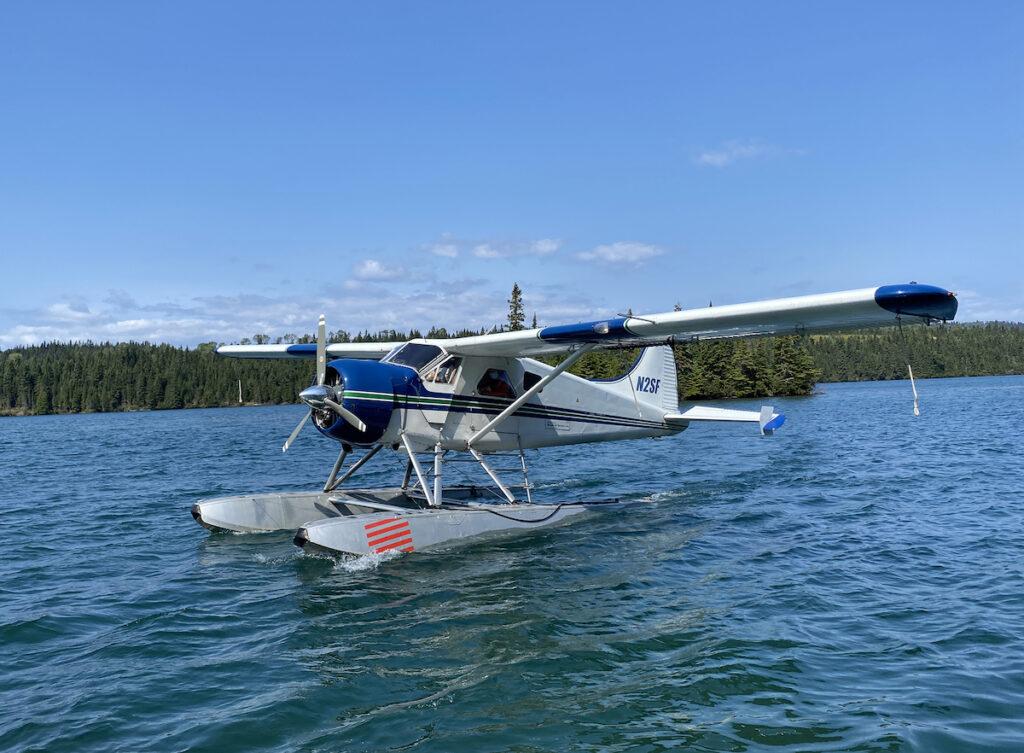 Seaplane to Isle Royale.
