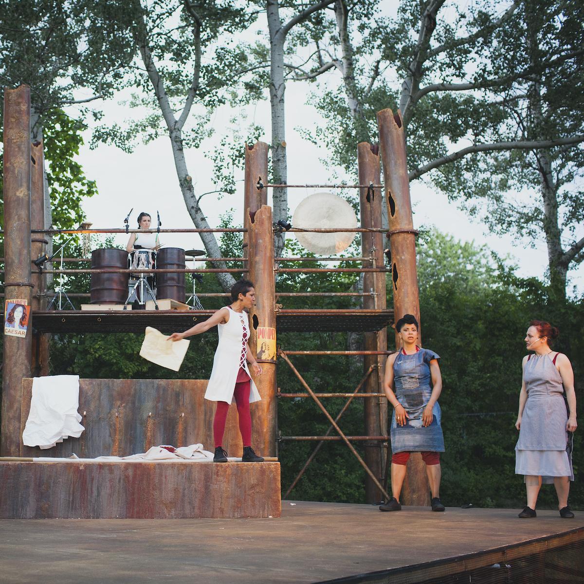 Repercussion Theatre's production of Julius Caesar