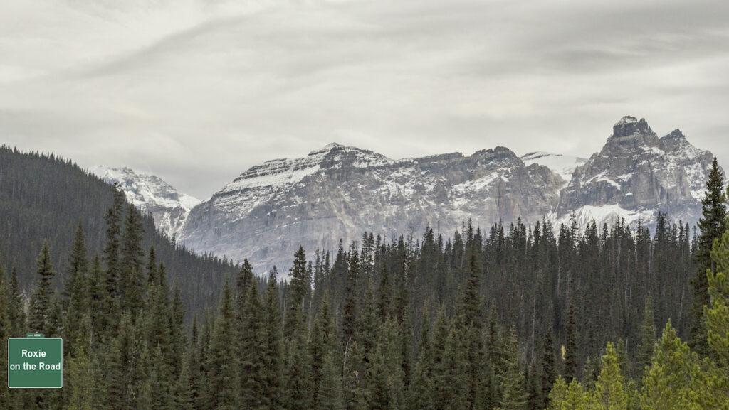 The Candian Rockies above Kicking Horse Pass; Yoho National Park