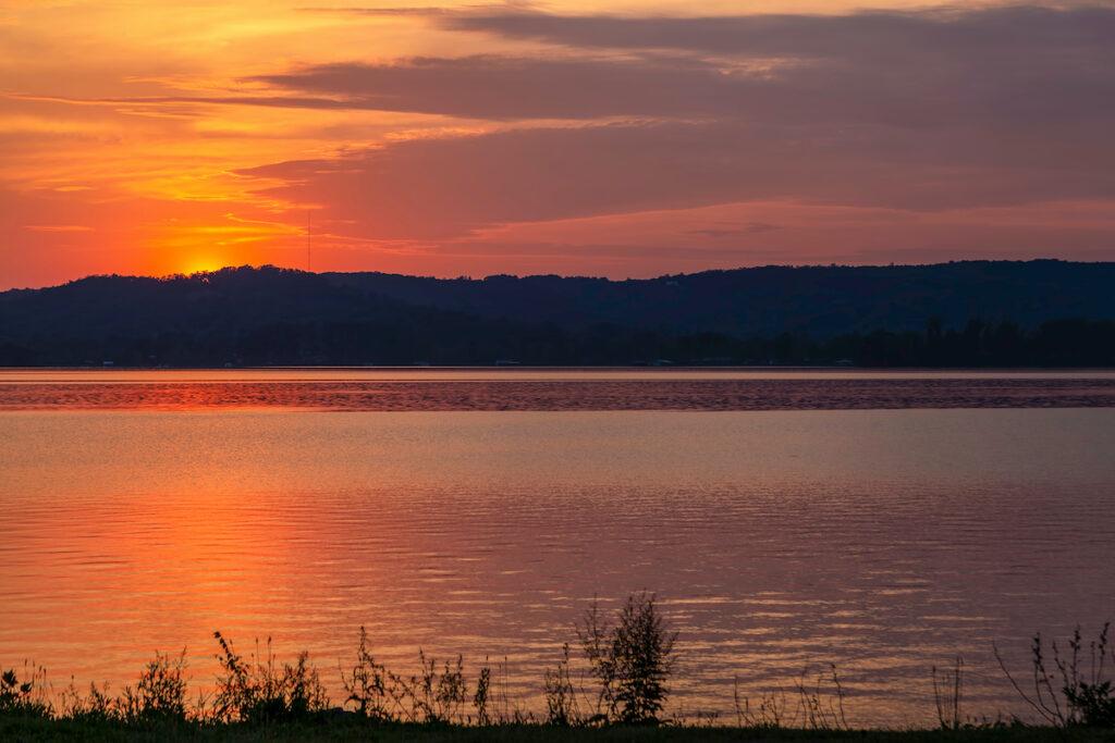Lake Guntersville, Alabama, near Sauta Cave