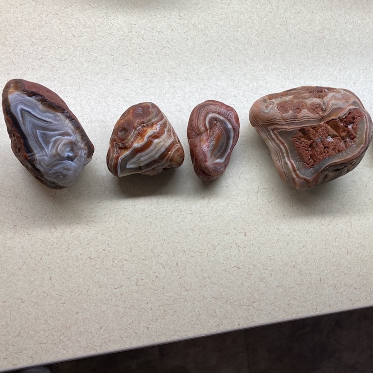 Lake Superior Agates From Russ Clarke's Collection