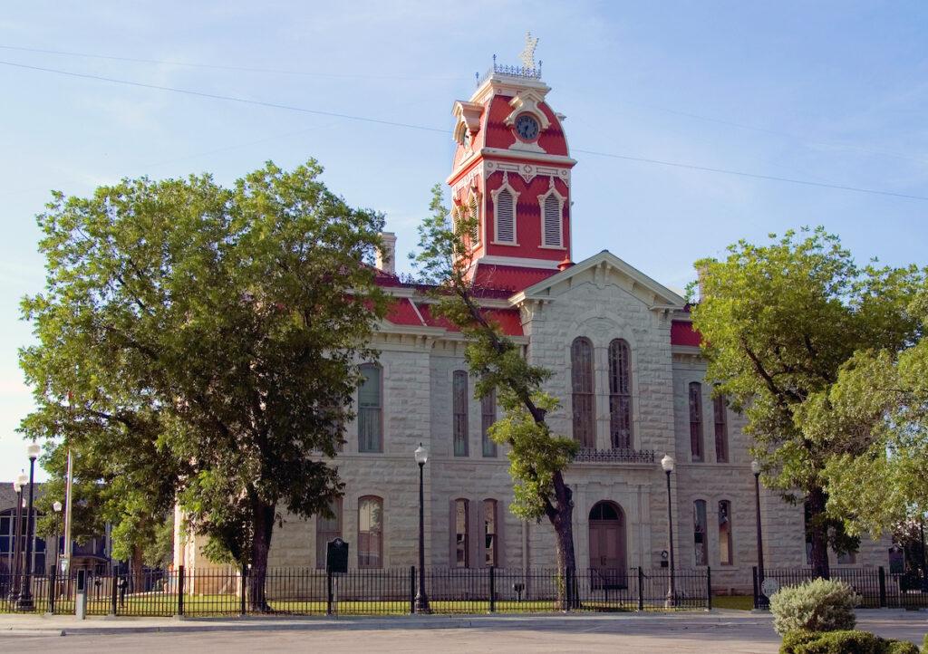 Lampasas County Courthouse; Lampasas, Texas