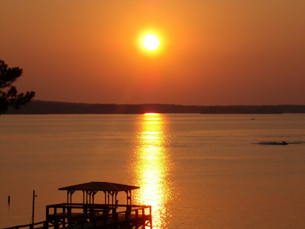Marina on Lake Livingston, Texas