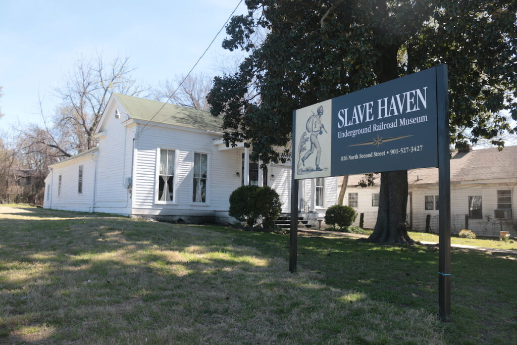 Slave Haven Underground Railroad Museum in Memphis, Tennessee.