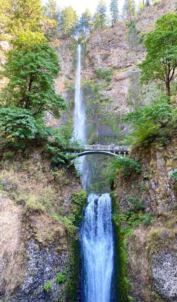 Multnomah Falls; Columbia River Gorge, Oregon
