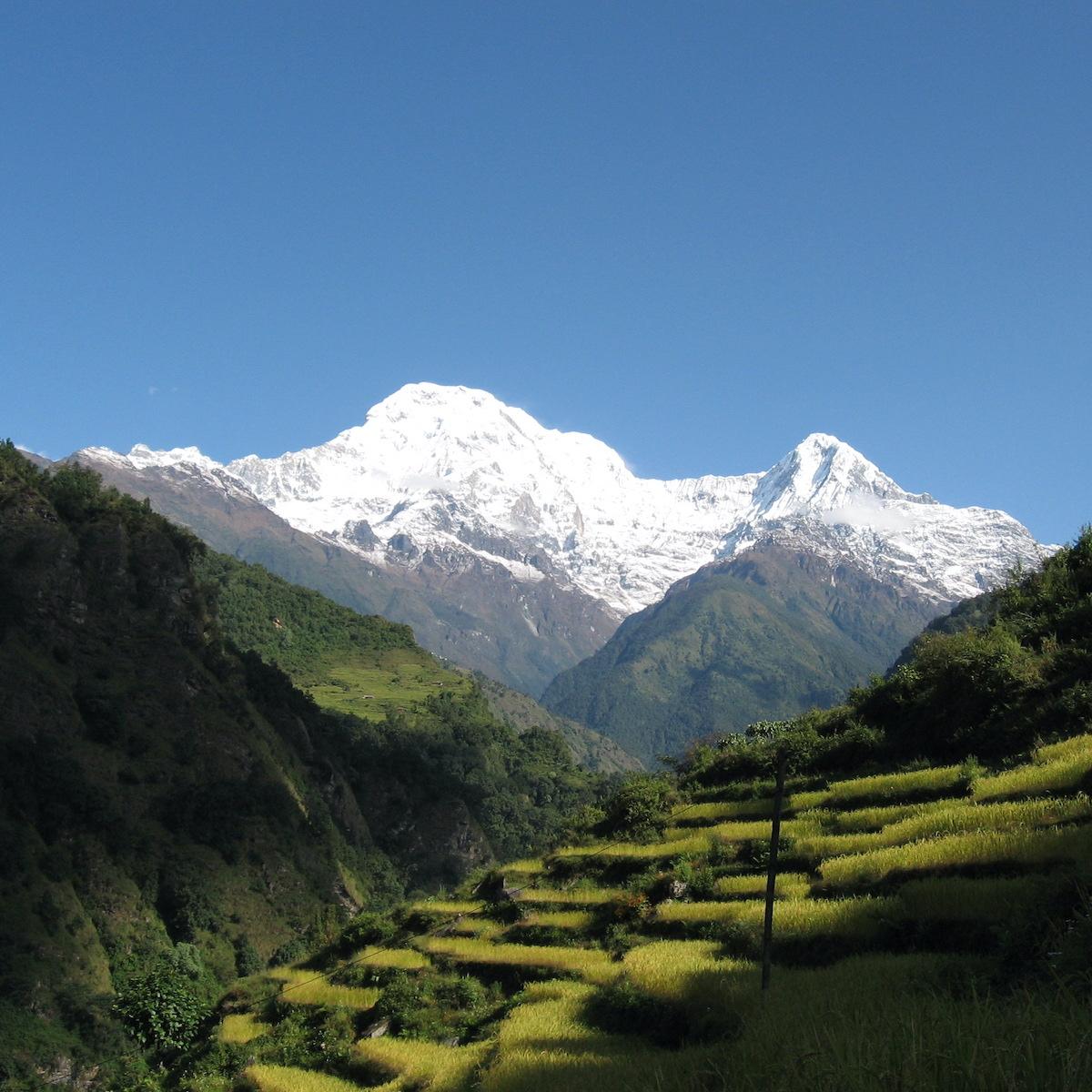 The Himalayas of Nepal