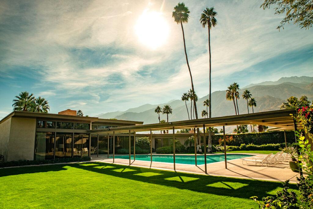 Frank Sinatra Twin Palms Estate; Palm Springs, California