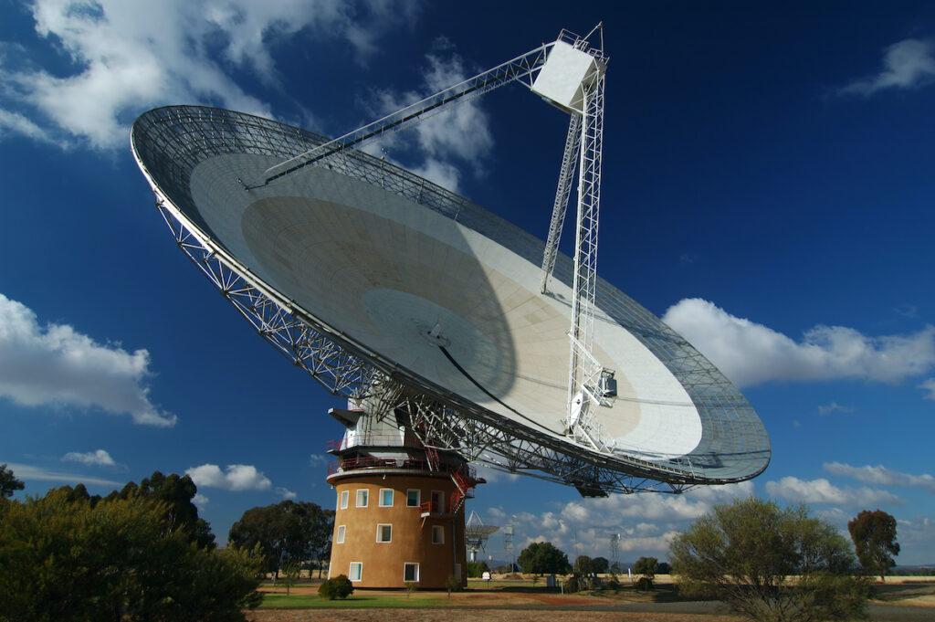 Parkes Radio Telescope; New South Wales; Australia