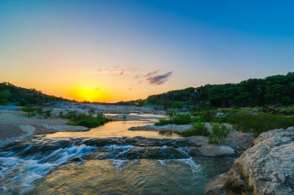 Pedernales Falls State Park near Dripping Springs, Texas