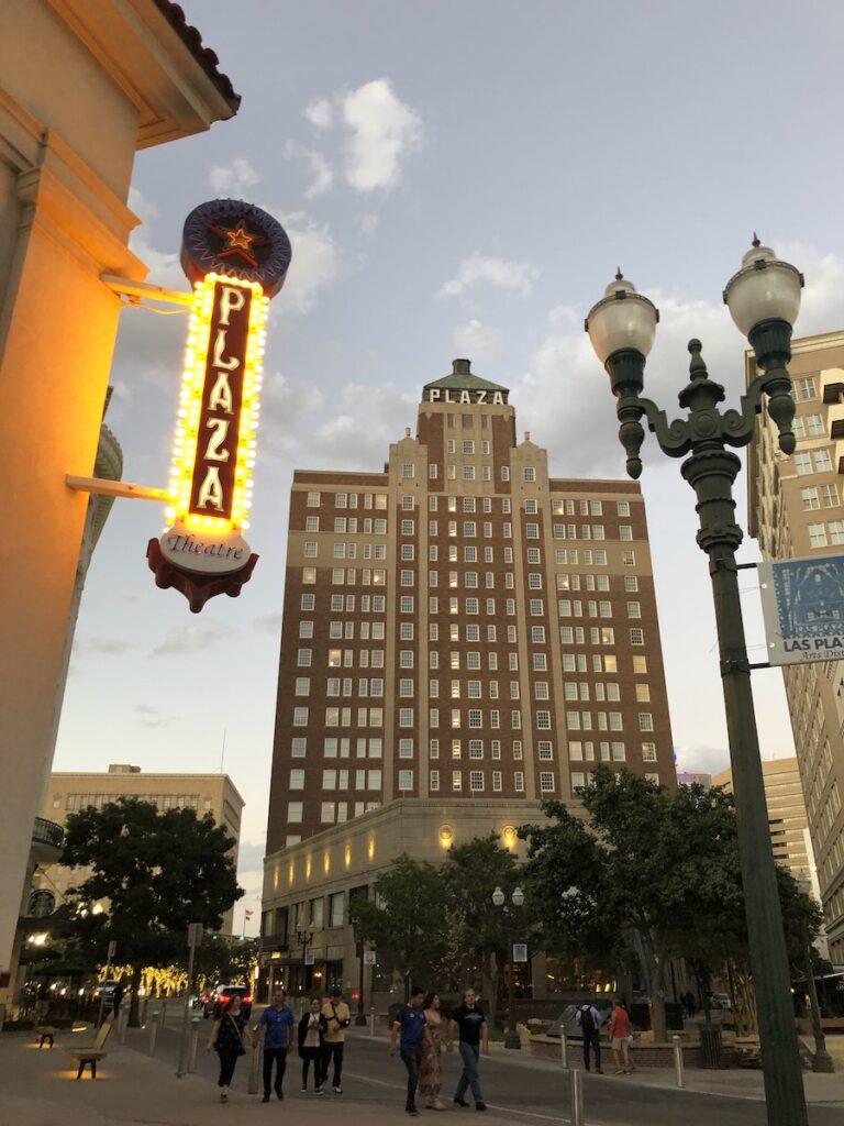 The Plaza Hotel Pioneer Park, Las Plazas, El Paso, Texas.