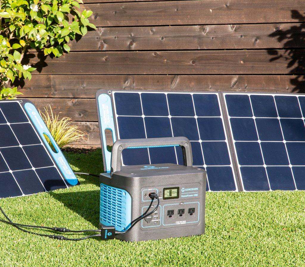 Generark Solar Home Generator with solar panels