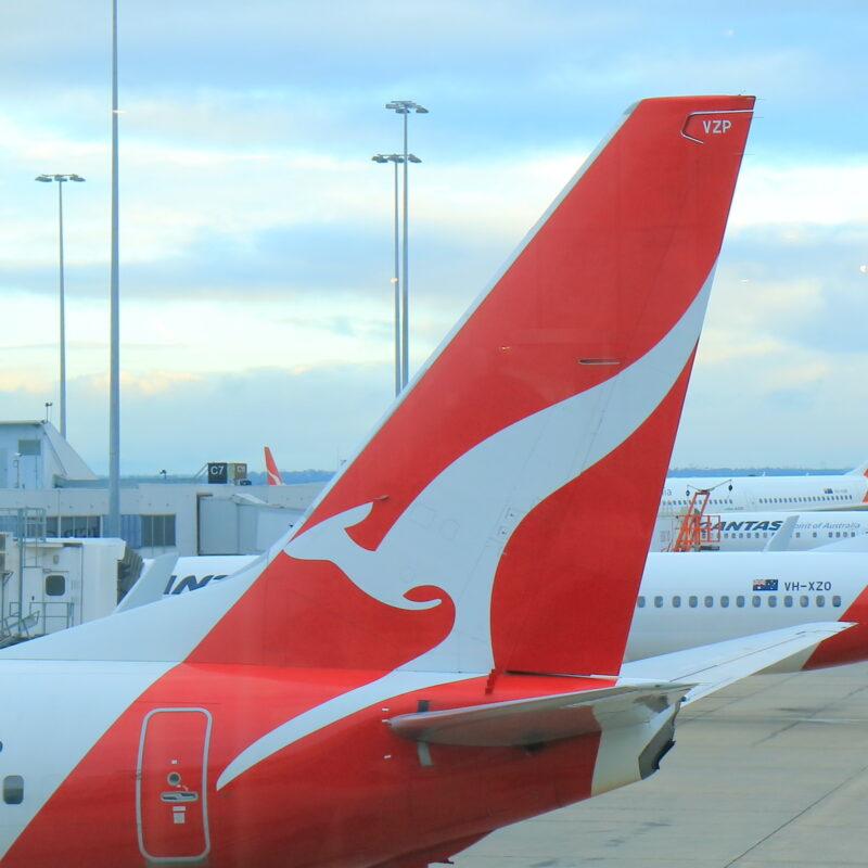 Qantas Airways tailfin