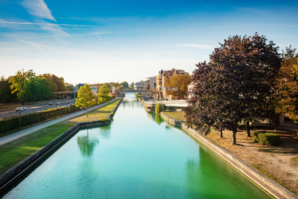 Canal de l'Aisne a la Marne in Reims