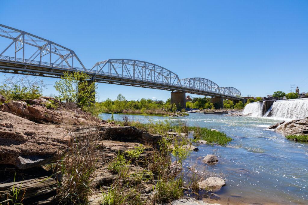 Roy B. Inks Bridge in Llano, Texas