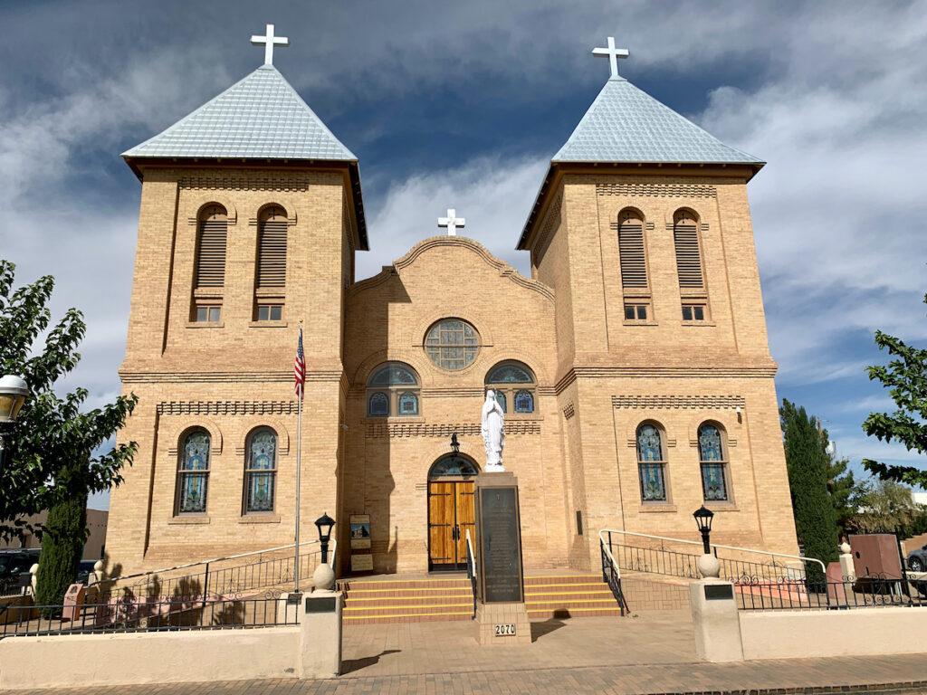 San Albina Basilica near Las Cruces, New Mexico