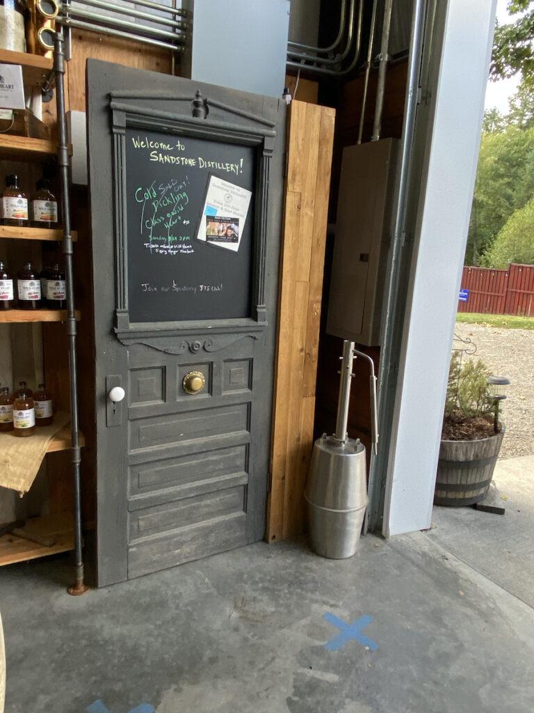 Sandstone Distillery; Tenino, Washington