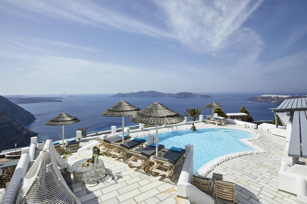 Santorini Princess Spa Hotel; Imerovigli, Greece