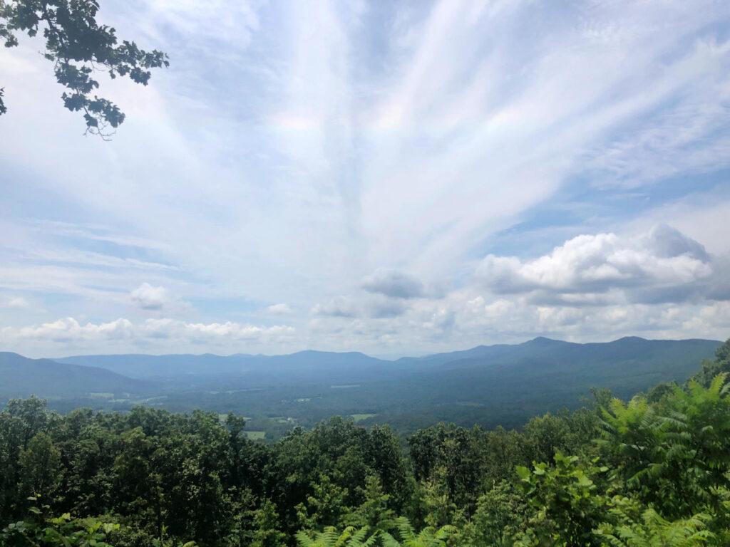 Scenic overlook Shenandoah Valley, VA