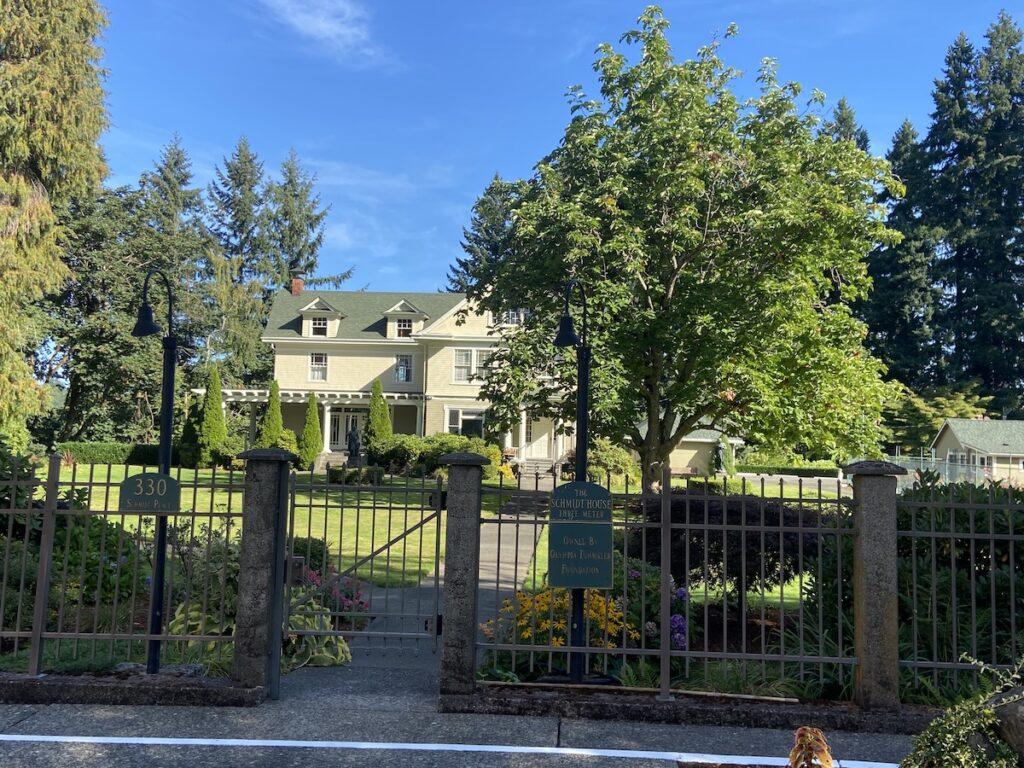 Schmidt House; Olympia, Washington