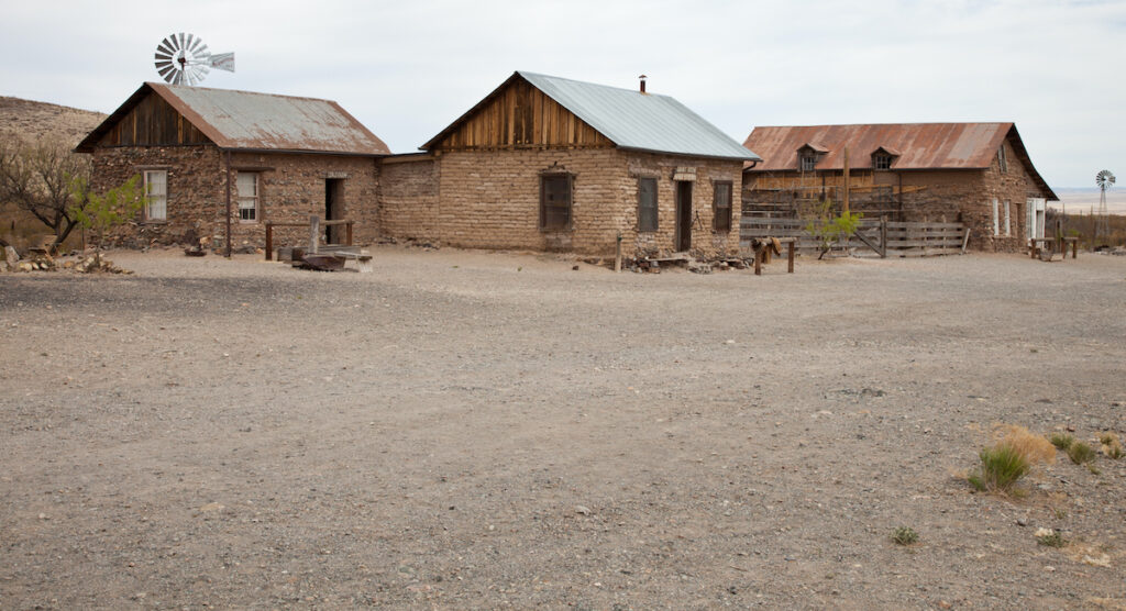 The ghost town of Shakespeare, New Mexico