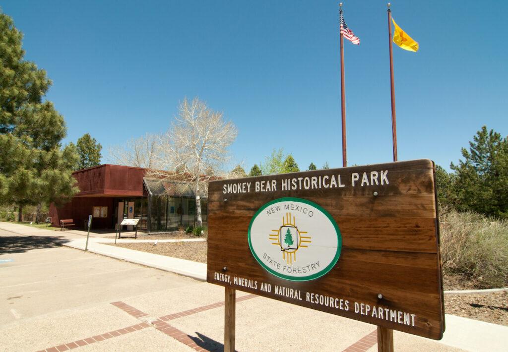 Smokey Bear Historical Park; Capitan, New Mexico