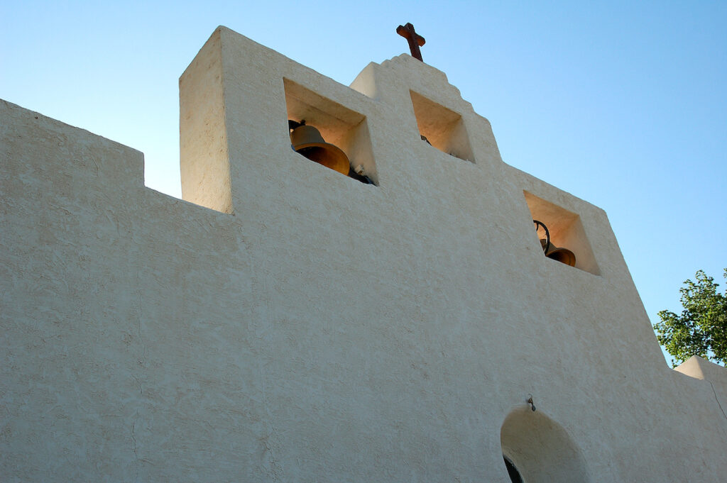 St. Francisco de Paula Church in Tularosa, New Mexico