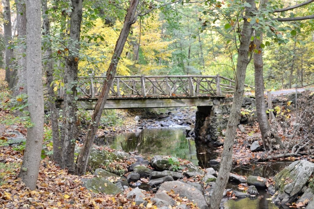 The Headless Horseman's Bridge in Sleepy Hollow, New York.