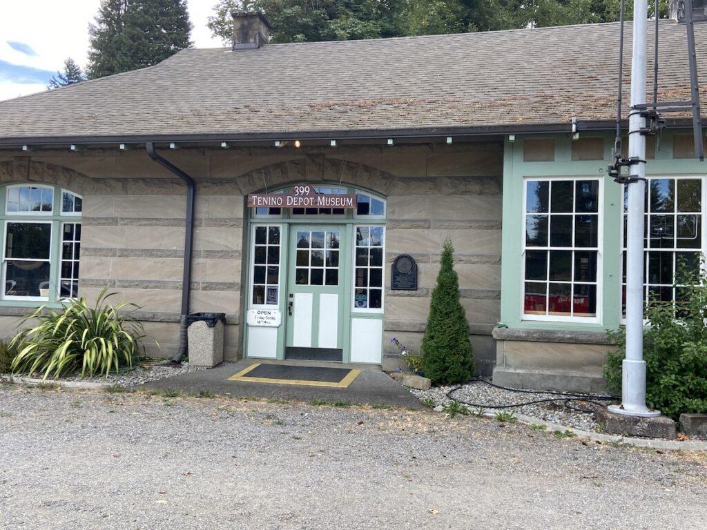 Tenino Depot Museum; Tenino, Washington