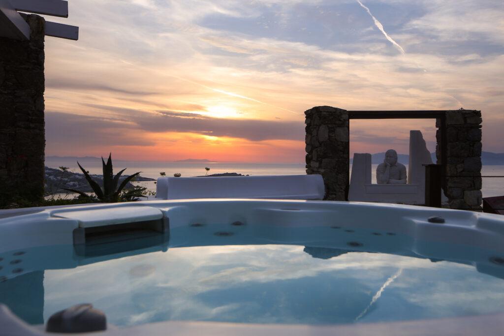 Tharroe of Mykonos Hotel; Cyclades, Greece