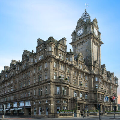 The Balmoral Hotel in Edinburgh, Scotland