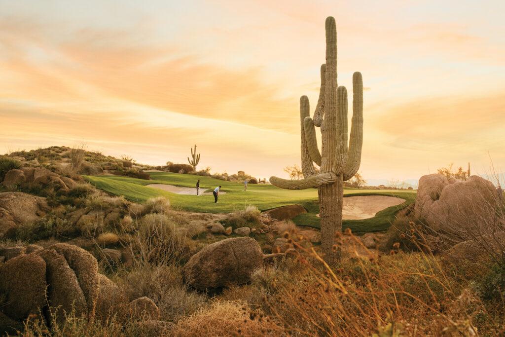 Troon North Golf Club;  Scottsdale, Arizona