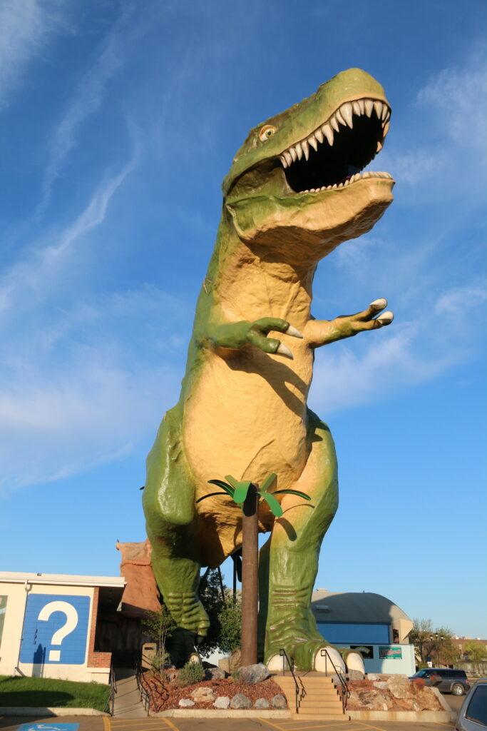 Tyra, sculpture, the World's Largest Dinosaur.