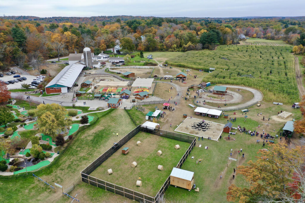 West End Creamery Fall Festival, Whitinsville