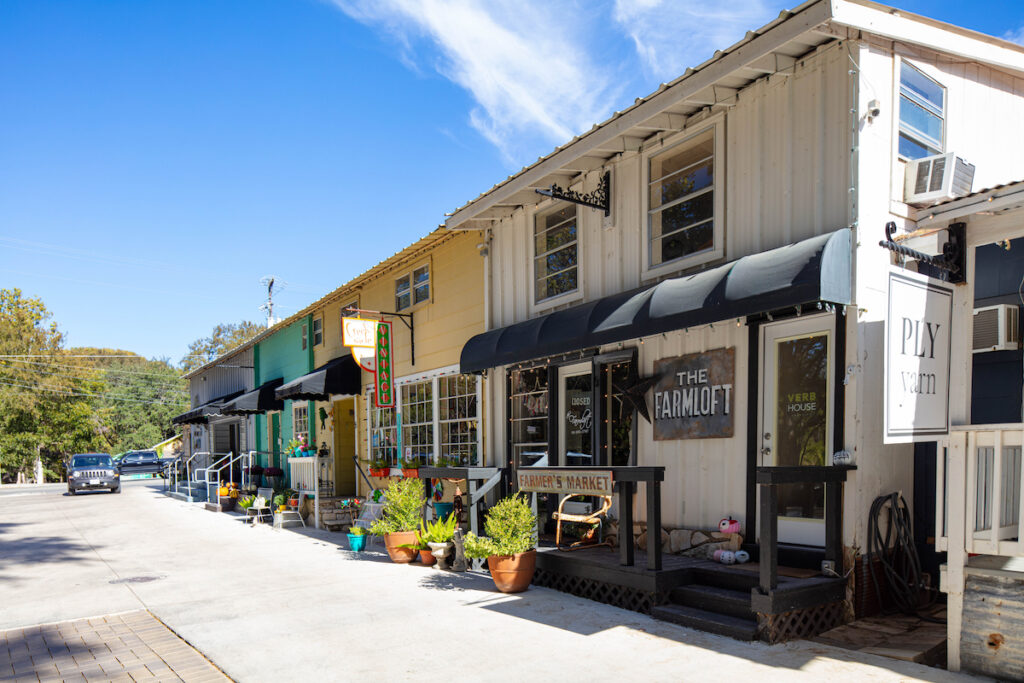 Shops at Wimberley Square; Wimberley, Texas
