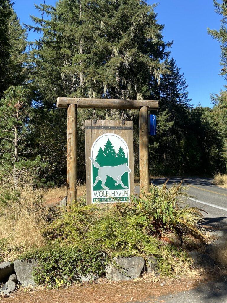 Wolf Haven; Tenino, Washington