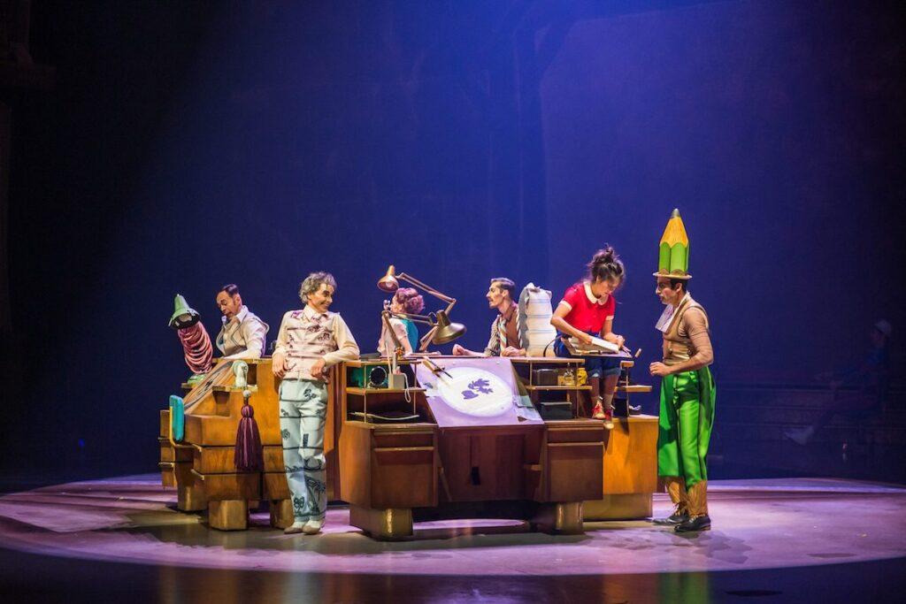 Les personnages du nouveau spectacle du Cirque du Soleil de Disney seront présentés en première le 18 novembre 2021.