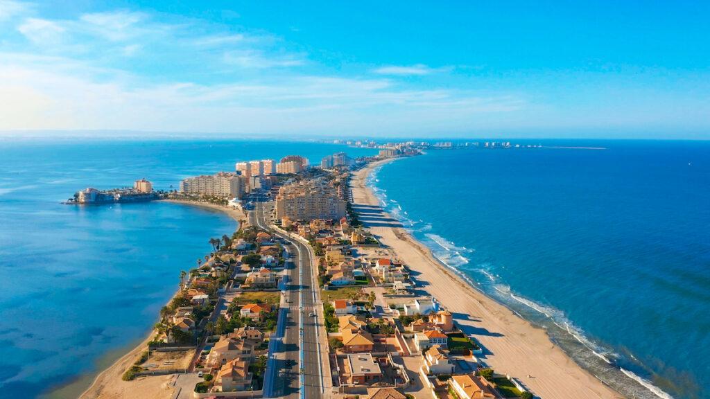 Mar Menor near Cartagena, Spain.