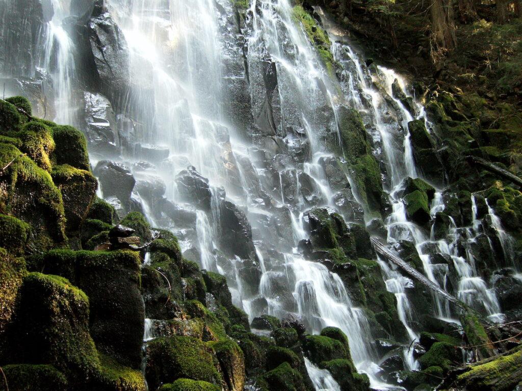 Ramona Falls near Government Camp, Oregon