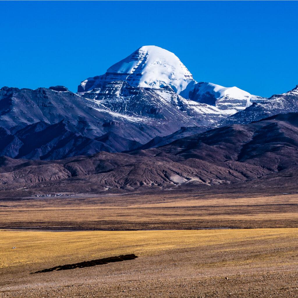 Scenery of Mount Kailash.