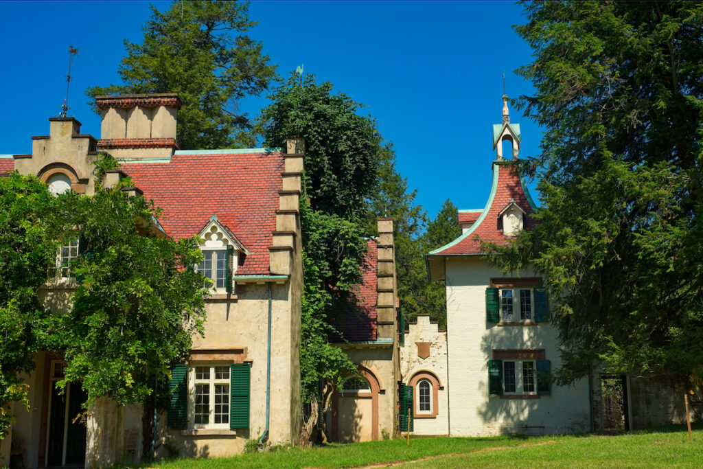 Washington Irving's Sunnyside Estate located near Tarrytown, New York.