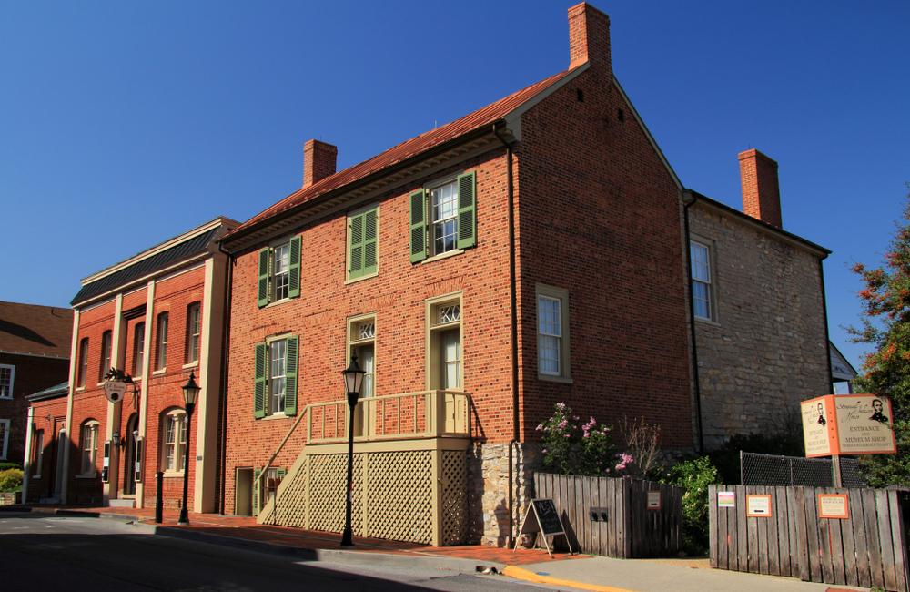 The Stonewall Jackson House in Lexington, VA