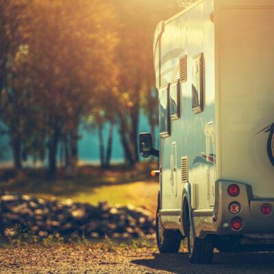 Autumn RV camping