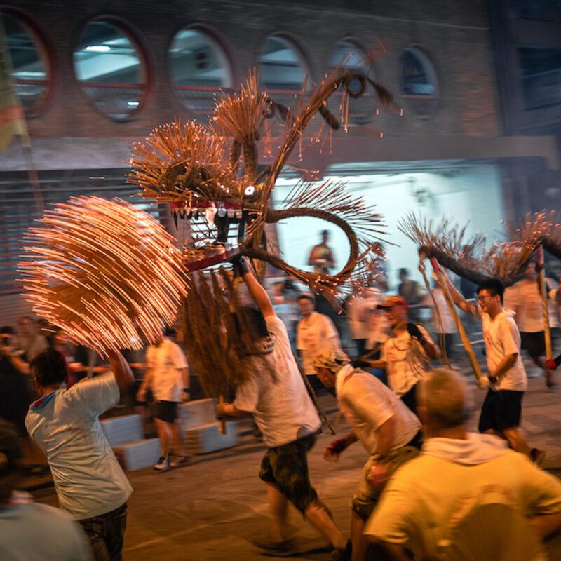 Tai Hang Fire Dragon Dance Festival 2019.
