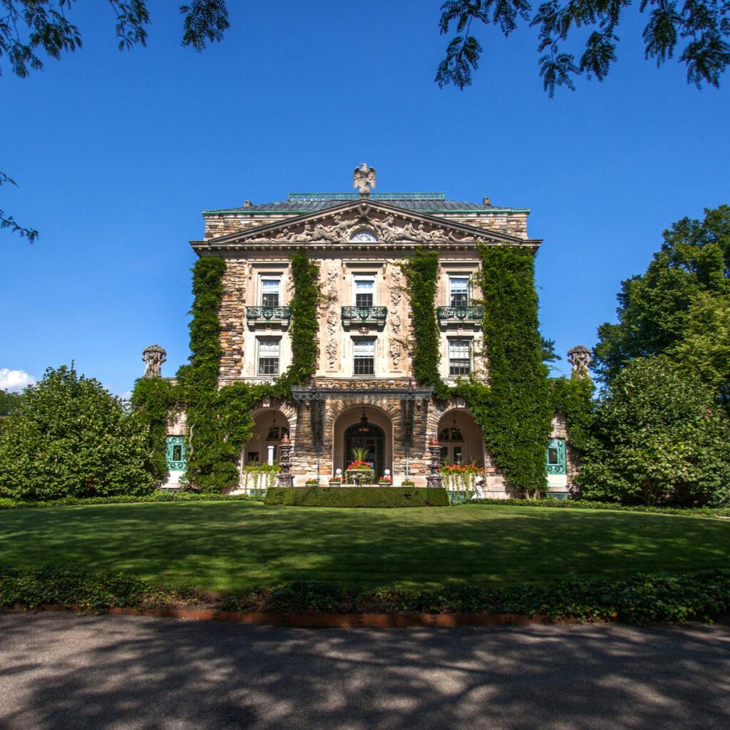 Kykuit, the former estate of the Rockefeller family.